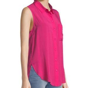 Velvet Heart Madden Sleeveless Button Front Tunic